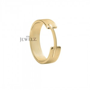 14K Solid Gold 5 mm Wide (5 Gms.) Wedding Engagement Band Ring Fine Jewelry